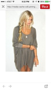 loose-fitting style,dress