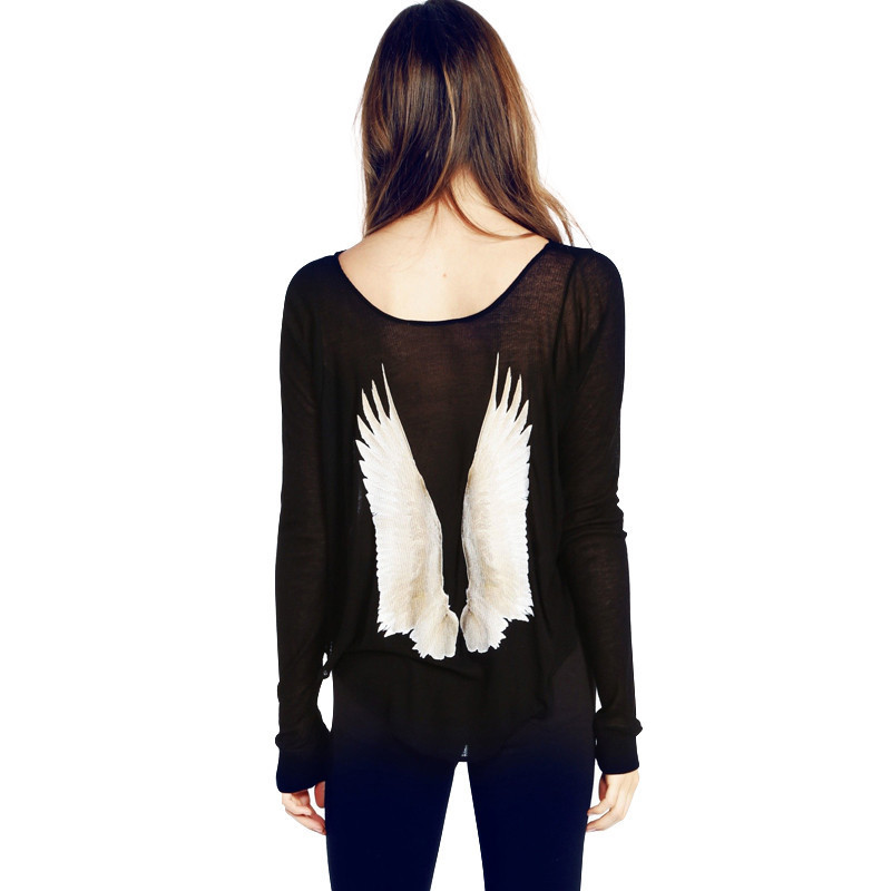 Back wings sweater (2 colors)