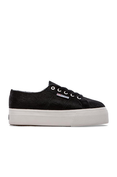 Superga hair black