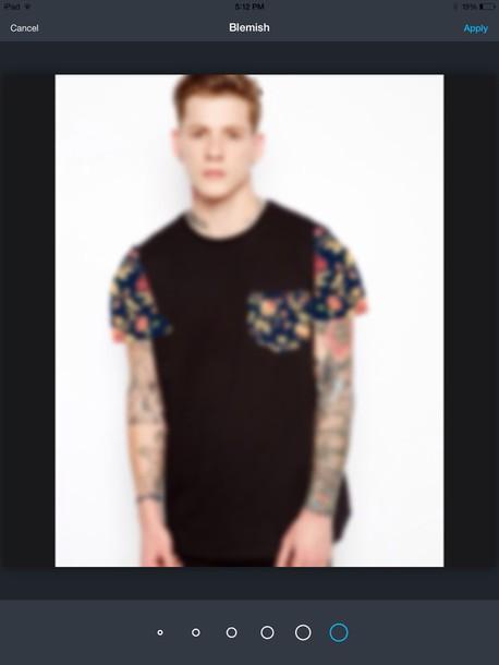 shirt floral fashion alternative tumblr hipster black cool cute