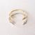 Gold Arrowhead Cuff Bracelet