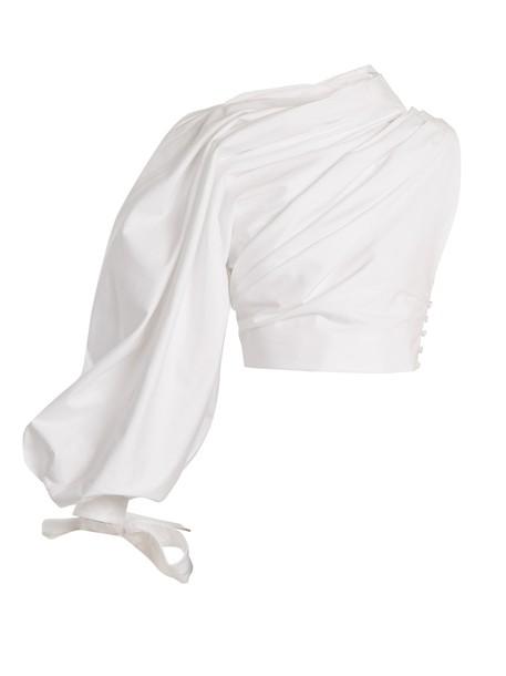 Jacquemus top cotton white