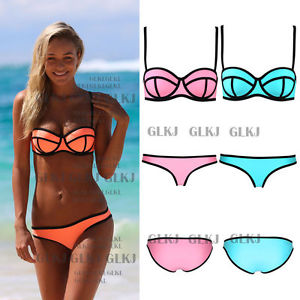 Women'S Bandage Bikini SET Push UP Padded BRA Swimsuit Bathing Suit Swimwear HOT | eBay