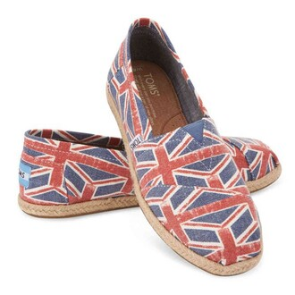 shoes toms union jack