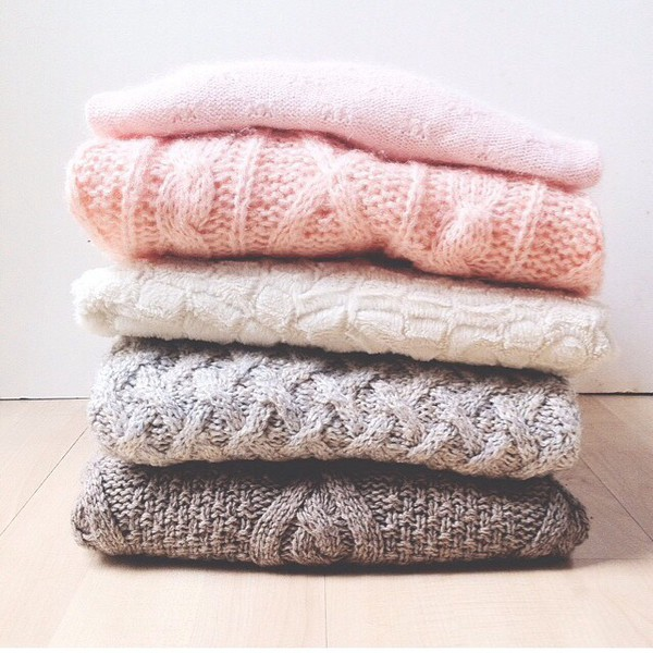 sweater winter sweater cute sweaters cute pink light pink white white sweater grey winter outfits