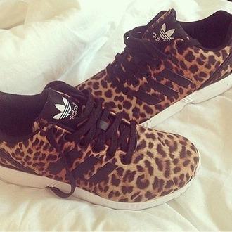 shoes adidas shoes adidas adidas originals adidas neon adidas jeremy scott tiger tiger print animal print