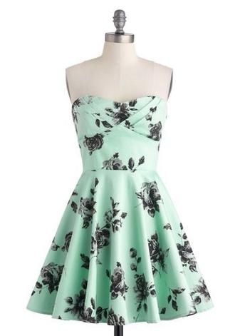 mint dress funny fashion summer dress awesone floral mint dress