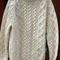 Bulk vintage clothing- wholesale: fishermen's / cable knit sweaters- email for availability