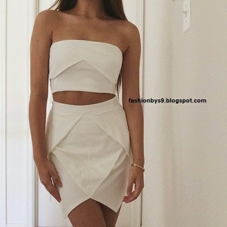 dress sexy dress white dress white crop tops crop tops bodycon dress