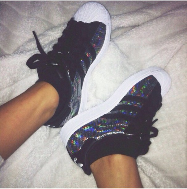 shoes adidas superstar 2 holograpic