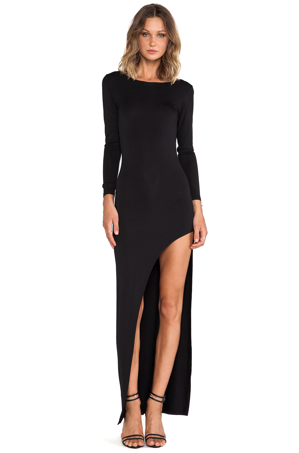 Lovers   Friends Lasting Impressions Dress in Black from REVOLVEclothing.com