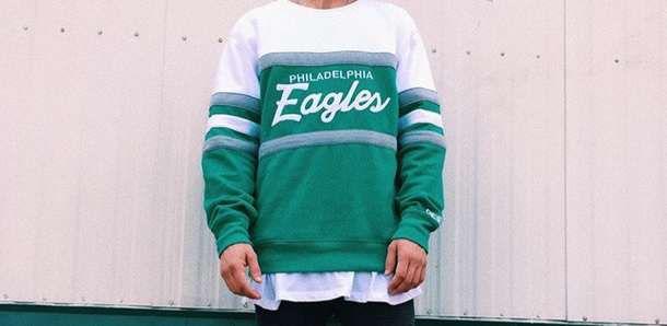 new concept caafc 6d3fe Get the sweater for $100 at store.philadelphiaeagles.com - Wheretoget