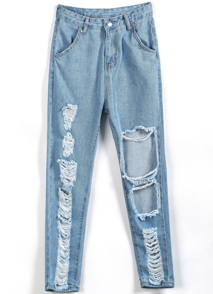Freed Ripped Jeans   Outfit Made