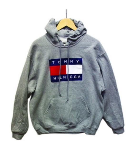 sweater tommy hilnigga sweatshirt grey gray sweatshirt hoodie finding tommy hilfiger. Black Bedroom Furniture Sets. Home Design Ideas