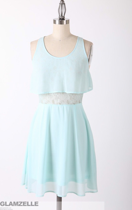 """""""baby blue frenzy"""" tiered lace dress – glamzelle"""
