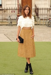 dress,alexa chung,recent
