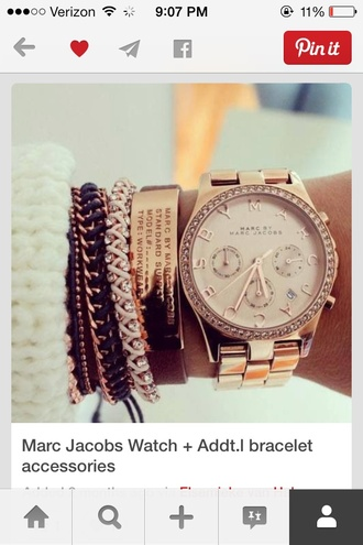 jewels watch marc jacobs rose gold marc jacobs watch rose gold watch