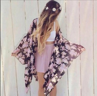 cardigan pullover tumblr pretty hipster indie floral