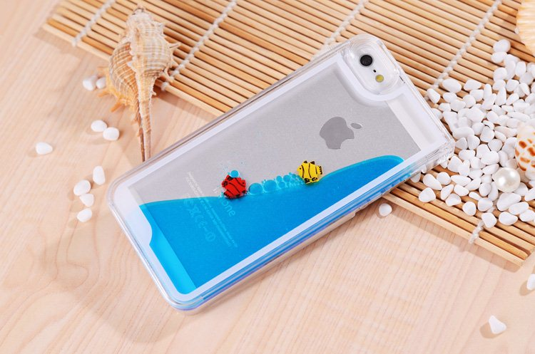new style 541f8 39449 Aliexpress.com : Buy For iPhone 5 5s Case Freedom Fish Fashion Beautiful  Bling Water Inside For iPhone5 iPhone5s Skin Cover Wholesale Free Shipping  ...