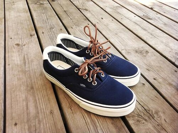 shoes vans blue vans