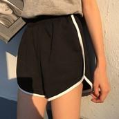 shorts,itgirl shop,kfashion,korean fashion,fashion,tumblr,southkorean,ulzzang,streetstyle,aesthetic,clothes,apparel,kawaii,cute,women,indie,grunge,pastel,kawaiifashion,pale,style,online,kawaiishop,freeshipping,free,shipping,worldwide,palegoth,soft grunge,softgoth,minimalist,inspiration,outfit,itgirlclothing,black shorts,sportswear,sportish shorts,cotton shorts