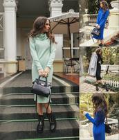 dress,angora,fall outfits,outfit,wide collar,polo neck,skinny,lady,fashion,zefinka,streetwear,bodycon dress