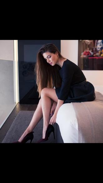 elegant dress little black dress classy dress black prom dress black skater skirt classy