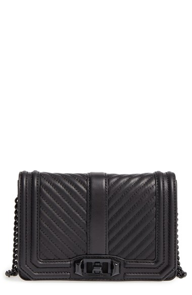 Rebecca Minkoff Small Love Leather Crossbody Bag | Nordstrom