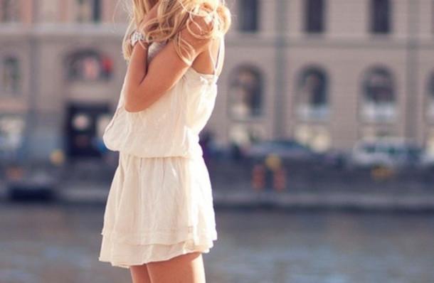 dress jumpsuit white summer watch sun like