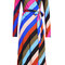 Striped silk wrap dress - diane von furstenberg | women | us stylebop.com