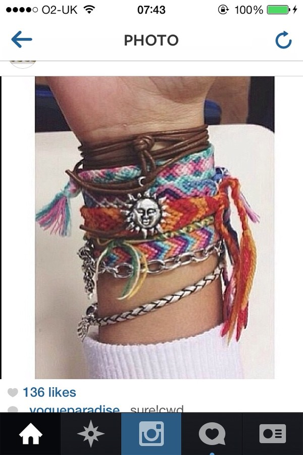 jewels bracelets cute tumblr tumblr girl tropical tropic sea ocean sun beautiful sunflower grunge soft grunge hippie