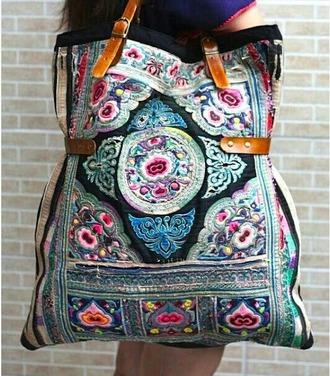 bag pattern tote bag