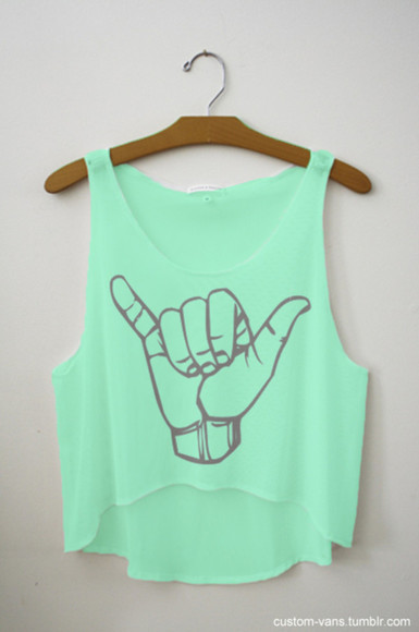 the hunger games shirt musthave tank top hang loose green crop tops mint t-shirt bag