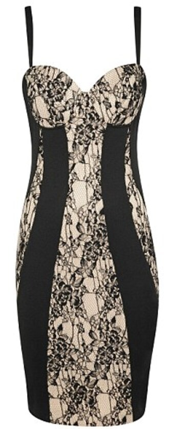 dress lace dress little black dress beige dress bodycon dress striped dress bra corset