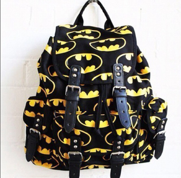 bag batman so awesome style