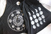 shirt,moon,black,muscle tee,t-shirt,white,indie,gorgeous,perfect,singlet,cute,girlie,outfit,tank top,swag,girly,grunge,goth,graphic tee,top,crop tops,moon phases,moon and sun,solar system,hipster,want so bad,astrology top,astrology,cut offs,tumblr,tumblr clothes,moon shirt,blouse,astrological,black top,graphic crop tops,black and white,black and white blouse,black t-shirt,moon phases shorts,grey,grunge t-shirt