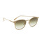 Garrett leight kinney metal sunglasses - beige/olive gradient