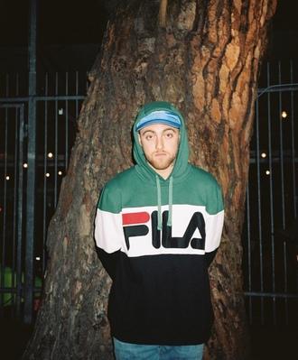 sweater fila hoodie mac miller