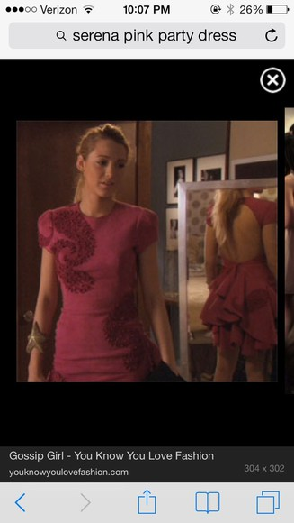 dress blake lively pink paisley