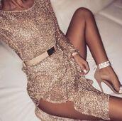 dress,gold dress,sparkly dress,shimmery dress,women,womens dresses,sparkle,diamante