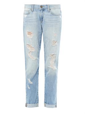Tyler distressed boyfriend jeans | Paige Denim | MATCHESFASHIO...