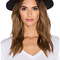 Maison scotch classic wool hat in black from revolve.com