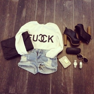 shorts clothes t-shirt