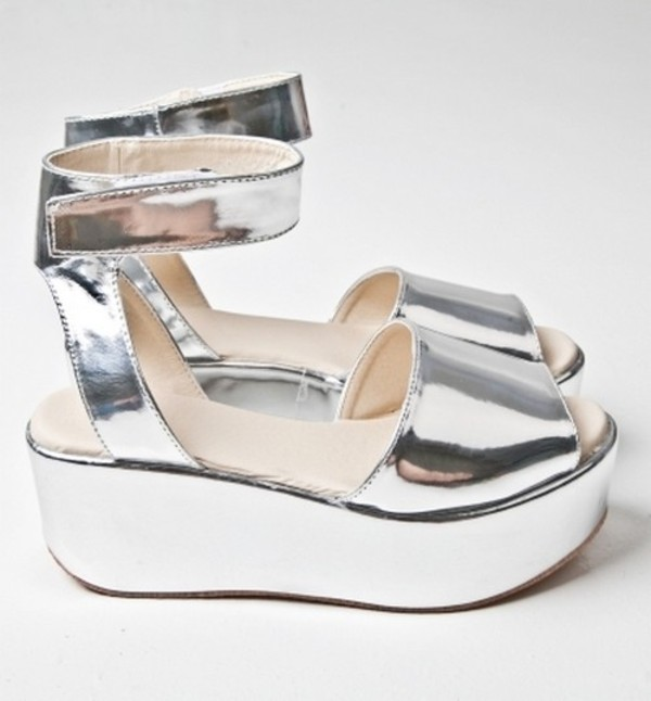shoes pale silver sandals soft grunge