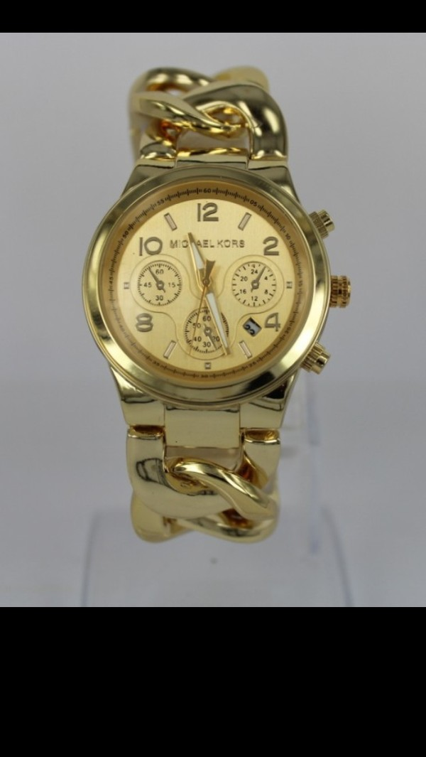 jewels michael kors michael kors watch gold