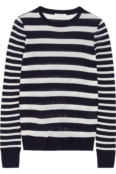 Shane striped silk sweater