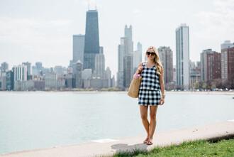 bows&sequins blogger top shorts bag sunglasses shoes