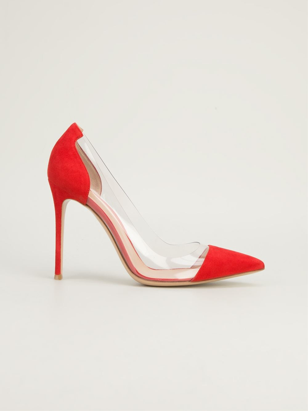 Gianvito Rossi Plexiglass Panel Pump - Biondini Paris - Farfetch.com