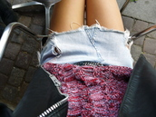 denim skirt,skrit,light blue,cut off skirt,mini skirt,skirt
