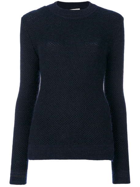 Stephan Schneider sweater women mohair blue wool